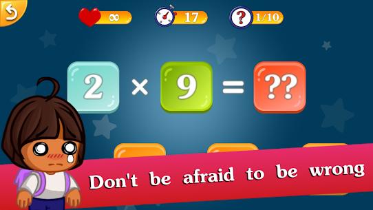 Free Math games for kids – Multiplication table (2х2) 3
