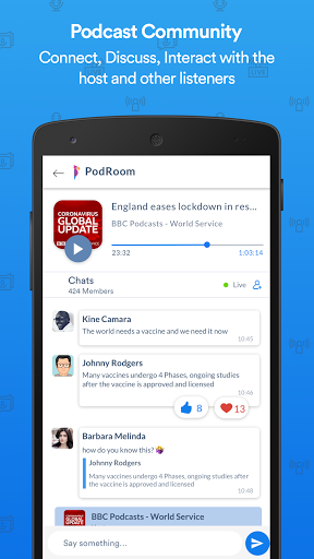 PodRoom: Podcast Social Network