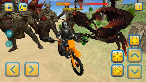 motorbike beach fighter 3d screenshot 3