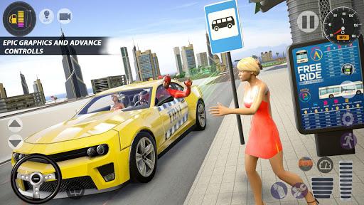 Superhero Taxi Car Driving Simulator - Taxi Games 1.0.2 Screenshots 6