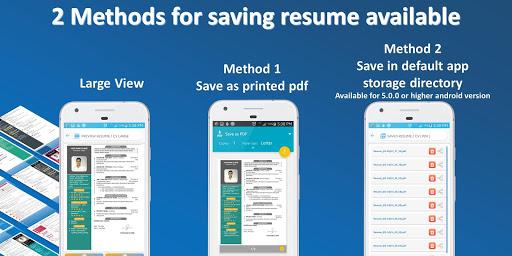 Resume builder Pro  - CV maker Pro Multi-Language 4.6 Screenshots 7