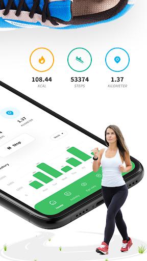 Pedometer - Step Counter Free & Calorie Counter  screenshots 2