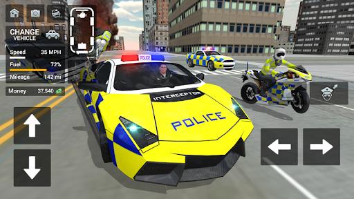 Police Car Driving - Motorbike Riding 1.32 screenshots 1