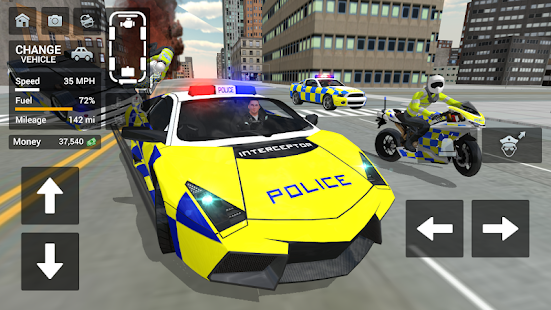 Police Car Driving - Motorbike Riding 1.38 screenshots 1