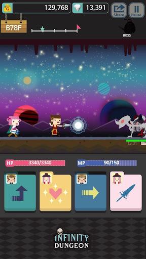 Infinity Dungeon: Offline RPG Adventure screenshots 2