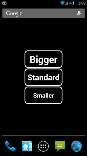 Big Font Widget ss1