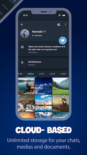 Tele Messenger Chats & Calls Free modavailable screenshots 5