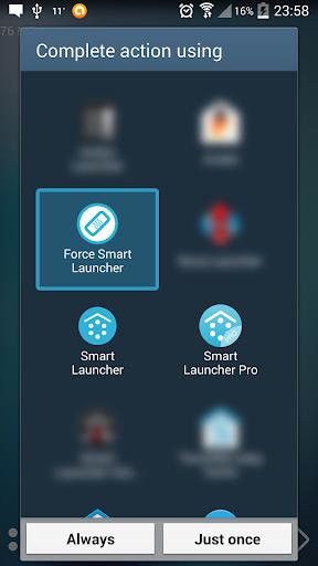 Default choice fixer for Smart Launcher 1.1 Screenshots 1