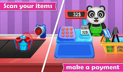 Panda Supermarket Shop - Fun Shopping Mania screenshots 3