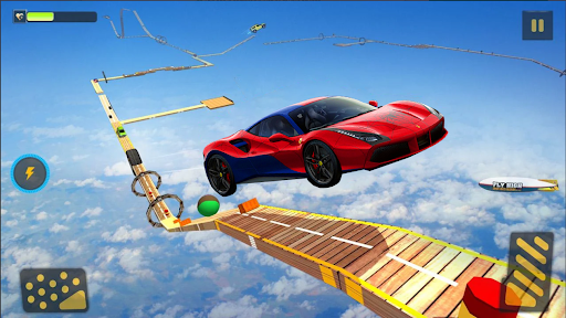 Superhero Car Stunts - Racing Car Games 1.6 screenshots 3