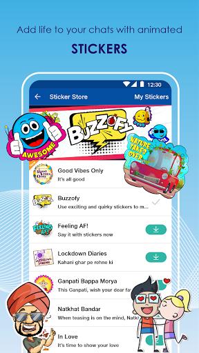 JioChat: HD Video Call android2mod screenshots 7