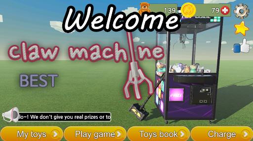 Prize claw machine game  screenshots 1