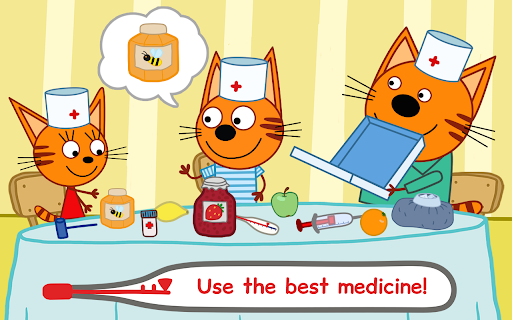 Kid-E-Cats Animal Doctor Games for Kidsu30fbPet Doctor  screenshots 16