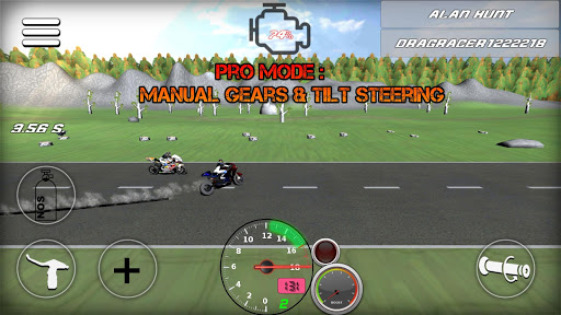 Motorbike Drag racing - Drag bikes  screenshots 1
