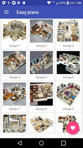 3d Home designs layouts 9.7 Screenshots 3