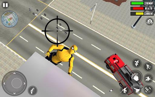 Spider Rope Hero 3D: Gangstar Vegas Crime apkslow screenshots 4