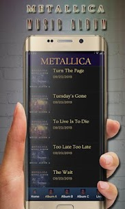 metallica albums song mp3 rock song pop song 150+ 2.2 Mod APK [Premium] 1