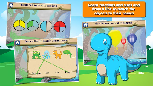 Dino 1st Grade Learning Games  screenshots 3