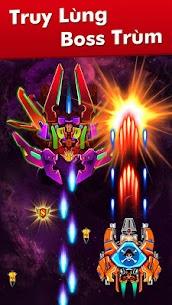 Hạm Đội: Đại Chiến Không Gian Ver. 32.7 MOD Menu APK | God Mode | Free Gold – Galaxy Attack: Alien Shooter MOD 4