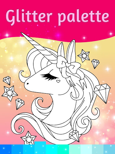 Unicorn Coloring Pages with Animation Effects 3.3 screenshots 3