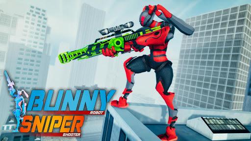 Grand Police Robot Speed: Hero Bunny Robot Games 1.1 screenshots 1