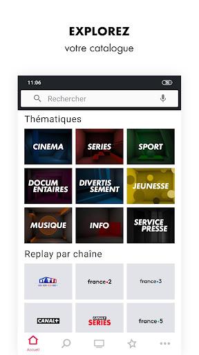 myCANAL, vos programmes en live ou en replay screenshots 3