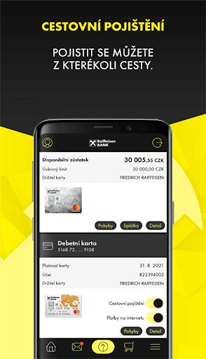 Mobilnu00ed eKonto Raiffeisenbank 3.9.2 Screenshots 7