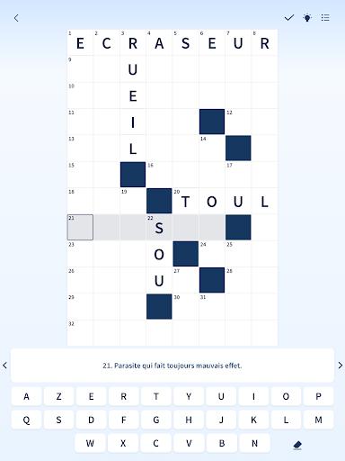Figaro Jeux : mots croisu00e9s screenshots 13