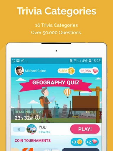 CASH QUIZZ REWARDS: Trivia Game, Free Gift Cards 3.2.18 screenshots 9