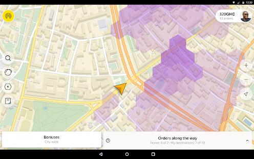 Yandex Pro (Taximeter)u2014Driver job in taxi for ride screenshots 6