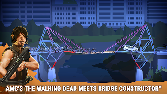 Bridge Constructor: The Walking Dead MOD (Levels Unlocked) 1