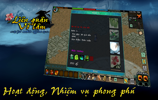Liu00ean Quu00e2n Vu00f5 Lu00e2m - Mu1ed9ng Giang Hu1ed3 (Offline) 1.0.48 screenshots 3