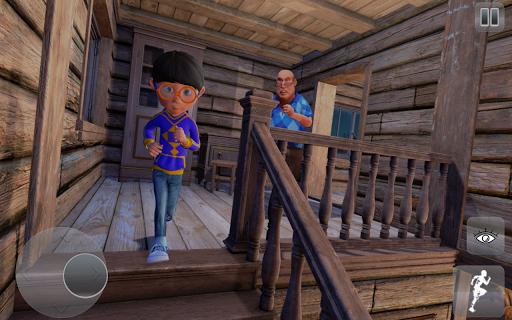 Scary Alien Grandpa Escape Sim screenshots 4