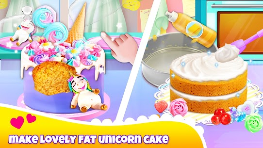 Girl Games: Unicorn Cooking Games for Girls Kids 2