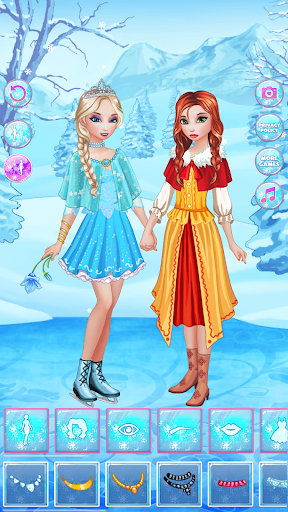 Icy Dress Up - Girls Games  screenshots 5