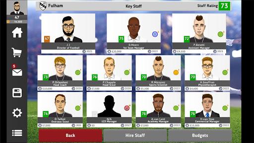 Club Soccer Director 2021 - Soccer Club Manager 1.5.3 screenshots 13