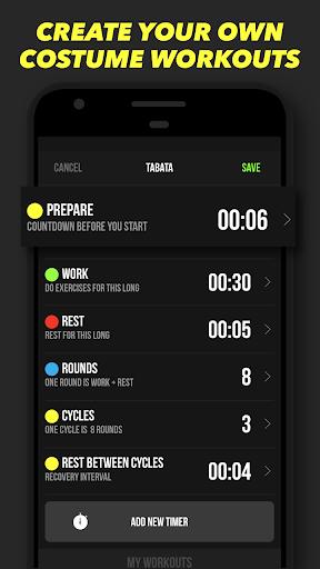 Timer Plus - Workouts Timer 1.0.3 Screenshots 3