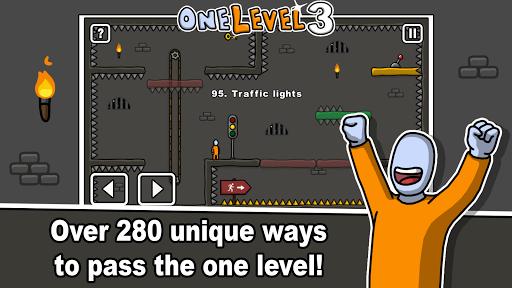 One Level 3: Stickman Jailbreak 1.8 Screenshots 8