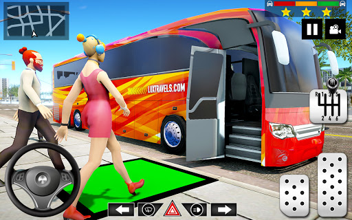 Mountain Bus Simulator 3D apktram screenshots 4