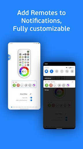 vRGB - LED IR Remote Control android2mod screenshots 3