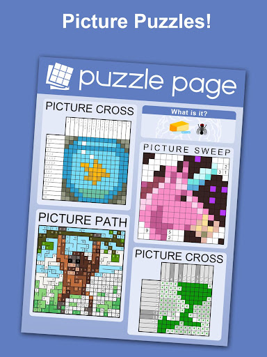 Puzzle Page - Crossword, Sudoku, Picross and more 3.62 screenshots 4