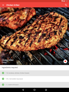 Chicken Recipes Screenshot