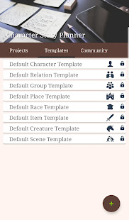 Character Story Planner 2 - World-building App