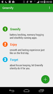 Greenify MOD Apk 2.3 (Unlocked) 1