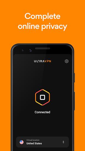VPN by Ultra VPN - Secure Proxy & Unlimited VPN  Screenshots 4