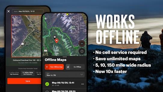 Free onX Hunt  Hunting Maps, Offline GPS/Nav  Weather 5
