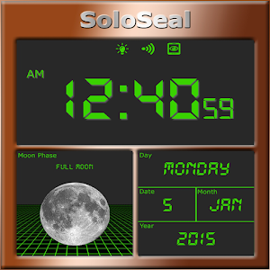 Moon Phase Alarm Clock