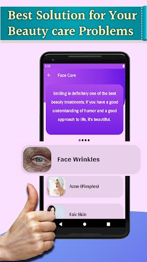 Beauty care tips - Skin,Hair,Face,Eye care 1.11 screenshots 2