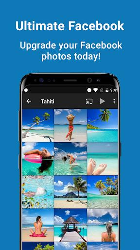 fotoFolio - Facebook Photos and Slideshows