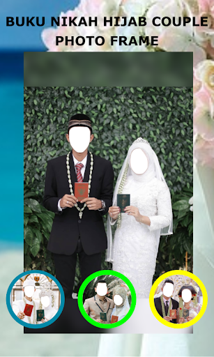 Book Wedding Hijab Couple Photo Frame 1.3 Screenshots 4